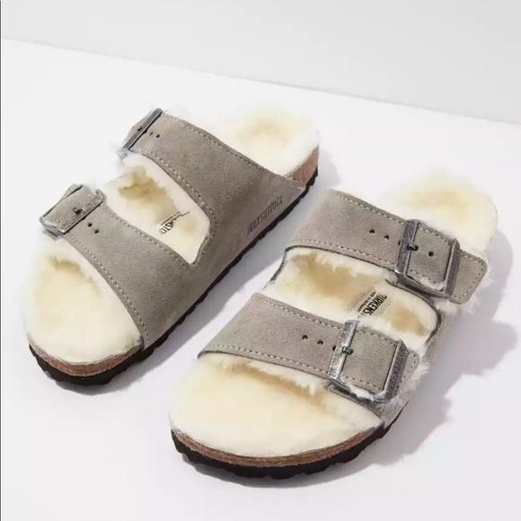 Birkenstock // Arizona Shearling Sandal